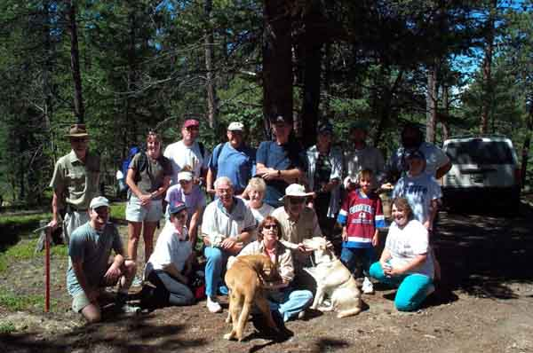 CMS 2001 Field Trip to Crystal Peak